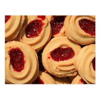 Strawberry Shortbread Cookies Postcard