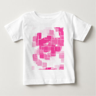 """Strawberry Shortcake"" Geometric Art Baby T-Shirt"