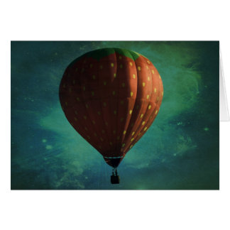 Strawberry Skies Card