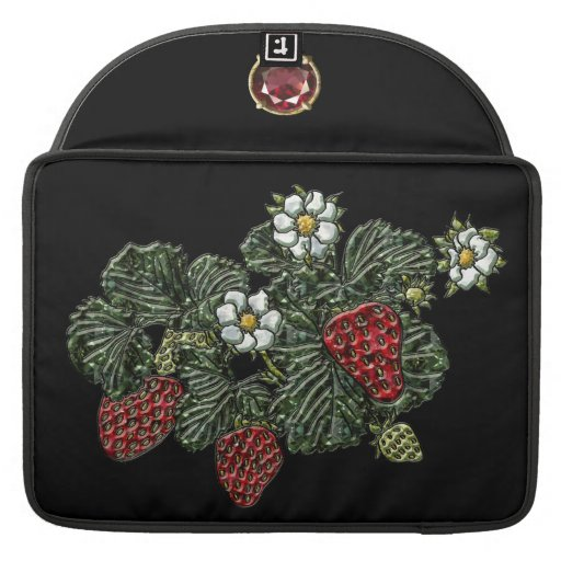 Strawberry Sleeves For MacBooks