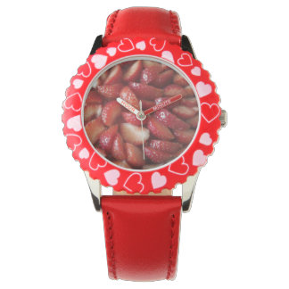 Strawberry Slices Wristwatch