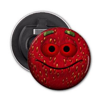 Strawberry Smiley Bottle Opener