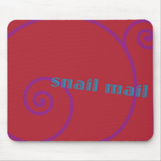 Strawberry Snail Mail Mouse Pad