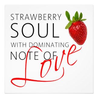 Strawberry Soul Photo Print