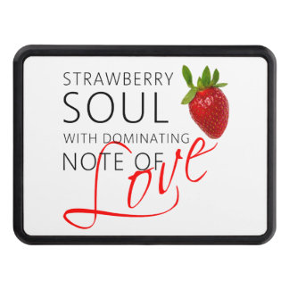 Strawberry Soul Tow Hitch Cover