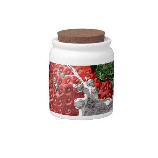 Strawberry Splash Candy Jar
