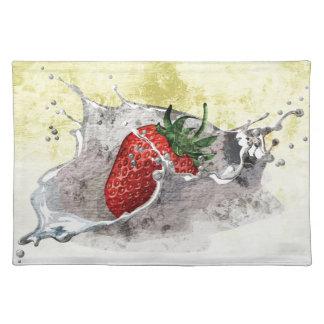 Strawberry Splash Placemat