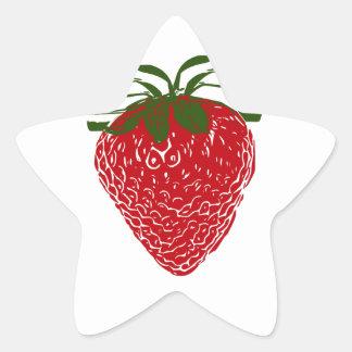 Strawberry: Star Sticker
