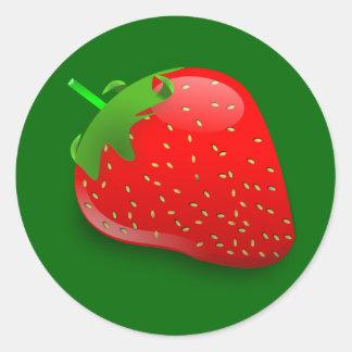 Strawberry Stickers