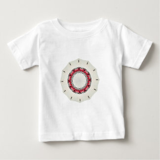 Strawberry Strawberries Clock Sundial Red Candles Baby T-Shirt