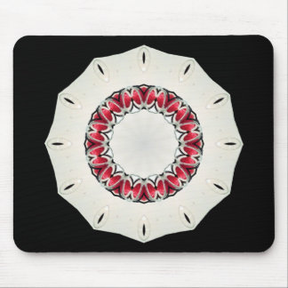 Strawberry Strawberries Clock Sundial Red Candles Mouse Pad