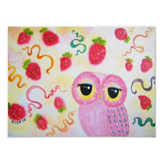 Strawberry Strawberry Poster