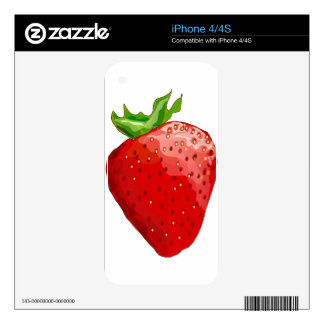 Strawberry Summer Delight Skins For The iPhone 4