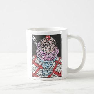 Strawberry Sundae Classic White Coffee Mug