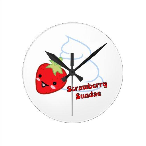 Strawberry Sundae reloj