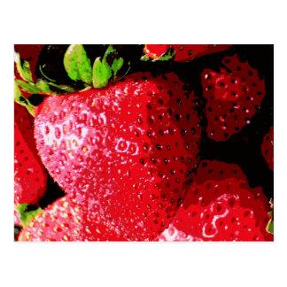 Strawberry Sweet Postcard