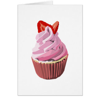Strawberry swirl cupcake template products