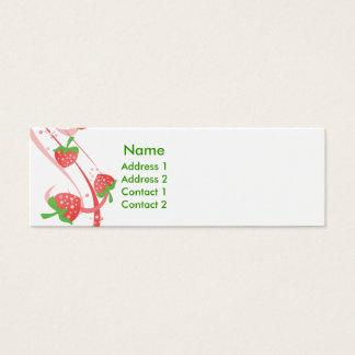 Strawberry Swirls Forever Skinny Cards