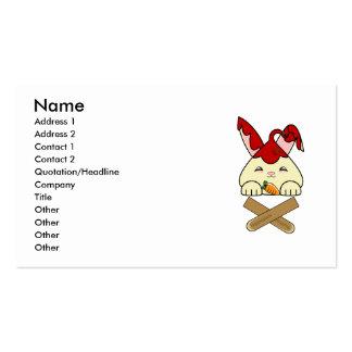 Strawberry Syrup Vanilla Hopdrop Crossticks Business Card Template