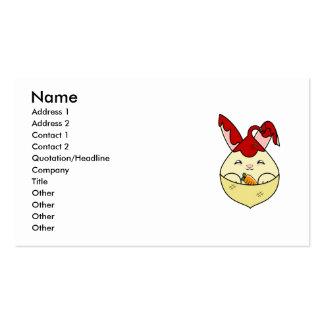 Strawberry Syrup Vanilla Hopdrop Mini Cone Business Card Templates