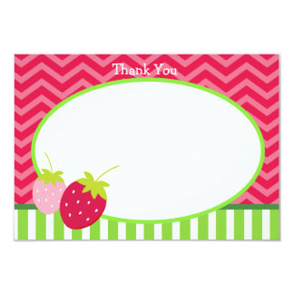 Strawberry Thank You Cards