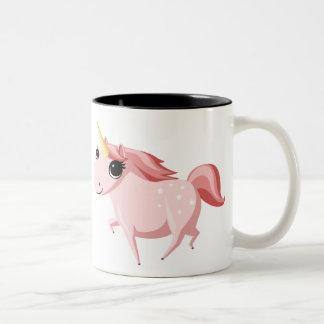 Strawberry the Pink Unicorn Coffee Mugs