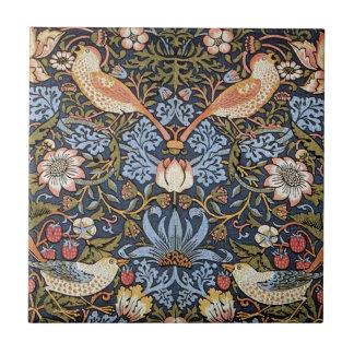 Strawberry Thief by William Morris Ceramic Tile