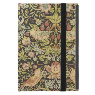 Strawberry Thieves by William Morris, Textiles Cover For iPad Mini