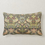 Strawberry Thieves by William Morris Victorian Art Throw Pillow