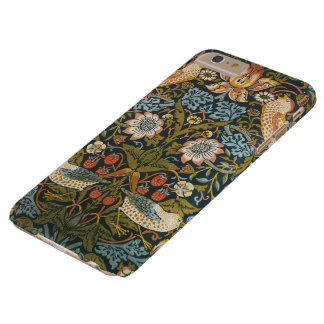 Strawberry Thieves by William Morris, Vintage Art Barely There iPhone 6 Plus Case