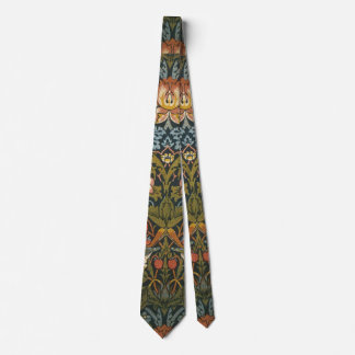 Strawberry Thieves by William Morris, Vintage Art Tie