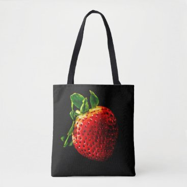 Beach Themed Strawberry Tote