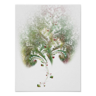 Strawberry Tree Fractal Posters