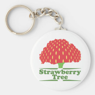 Strawberry Tree Keychain