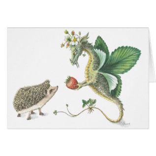 Strawberry Valentine's Day Card at Zazzle
