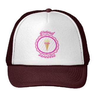 Strawberry Vanilla Double Scoop  -Grand Sweetie Trucker Hat