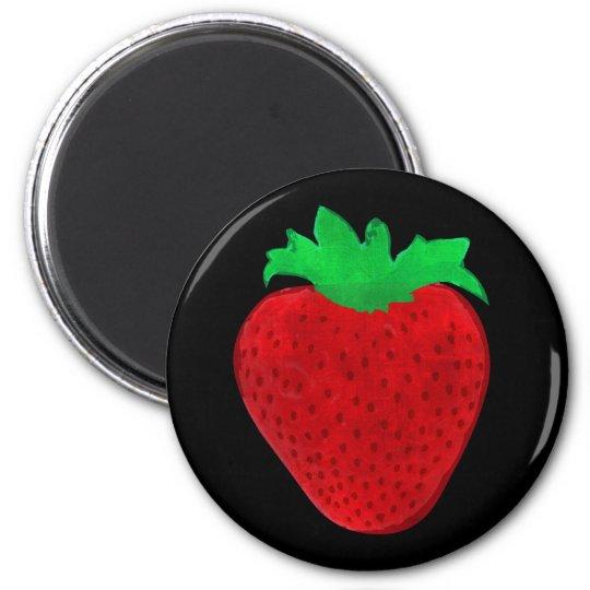 Strawberry Vintage Look Magnet