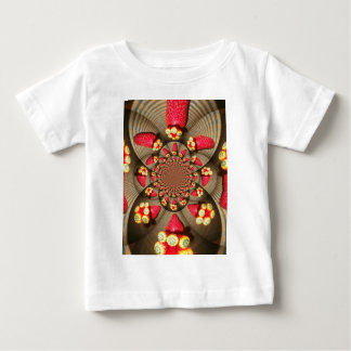 STRAWBERRY VINTAGE RED AND YELLOW.jpg Baby T-Shirt