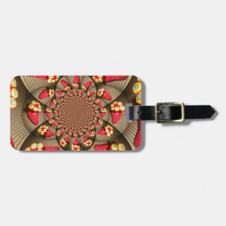 STRAWBERRY VINTAGE RED AND YELLOW Luggage Tag