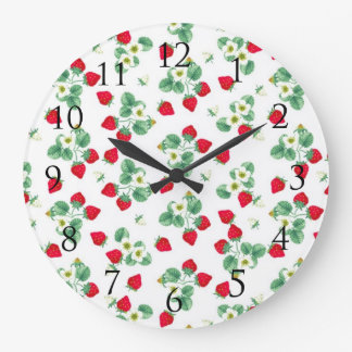 Strawberry Wall Clock