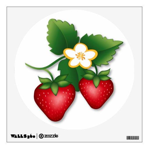 Strawberry Wall Skins
