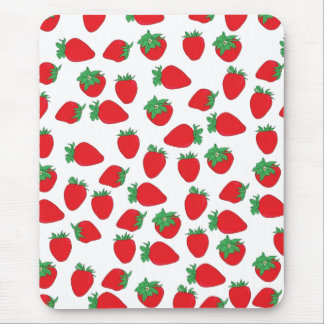 Strawberry Wallpaper Mouse Pad