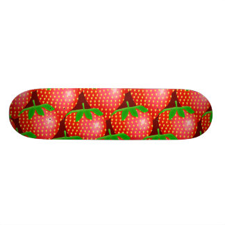 Strawberry Wallpaper Skateboard