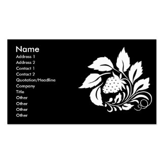 strawberry_white business cards