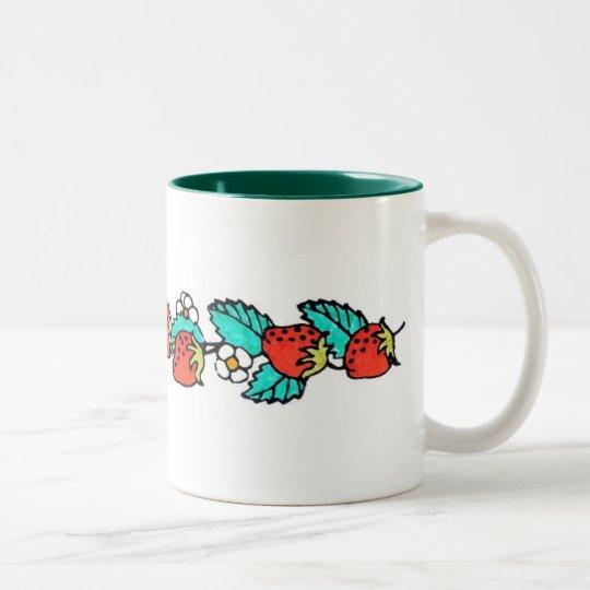 Strawberry Wrap Mug