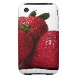 ¡Strawberrylicious! iPhone 3 Tough Cobertura