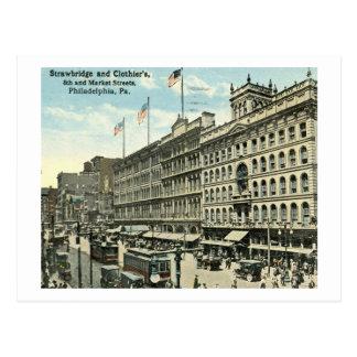 Strawbridge & Clothiers, Philadelphia 1919 Vintage Postcard