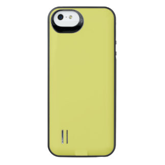 STRAWMAN YELLOW (solid hay color) ~ iPhone SE/5/5s Battery Case