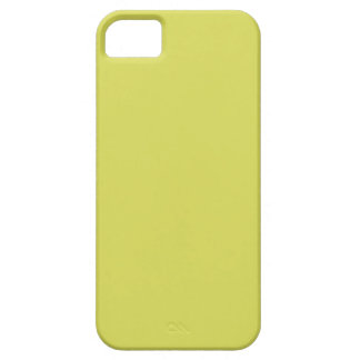 STRAWMAN YELLOW (solid hay color) ~ iPhone SE/5/5s Case