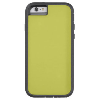 STRAWMAN YELLOW (solid hay color) ~ Tough Xtreme iPhone 6 Case